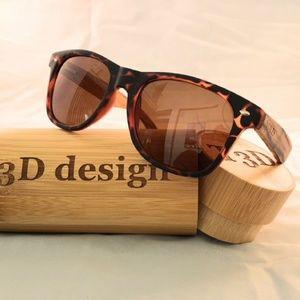Other - Sunglasses Wayfarer Tortoise and Zebra wood